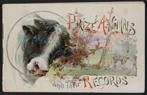 Prize animals and their records, Perry Davis & Son, Providence, Rhode Island, 1890
