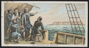 Trade card for Ayer's Sarsaparilla, Dr. J.C. Ayer & Company, Lowell, Mass., undated