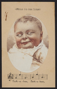 Trade card for Mellin's Food for infants and invalids, The Doliber-Goodale Co., 41 Central Wharf, Boston, Mass., undated