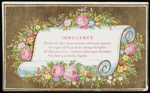 Innocence, location unknown, undated