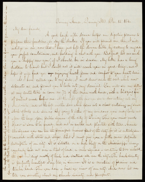 Letter from George Moore to Richard Thomas Austin