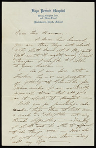 Letter from Henry Davis Sleeper to Halfdan M. Hanson, Dec. 26, 1917