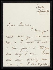 Letter from Amy Lowell to William Sumner Appleton, Jr.