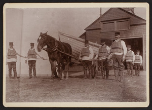 Members of the Orleans Life Saving Station, Orleans, Mass.