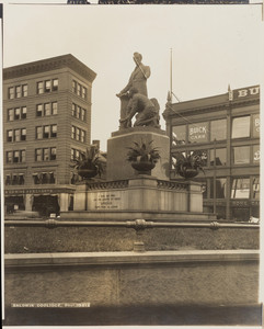 View of the Emancipation Group, Park Square, Boston, Mass., September 13, 1910