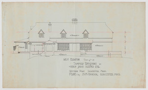 Historic New England properties architectural collection (AR019)