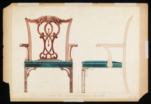 """Chair in South Kensington Museum"""