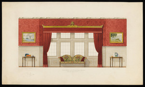 """""""Elevation of Drawing Room"""""""