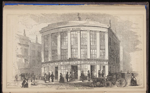 Brazer's Building, State Street, Boston, Mass., 1856