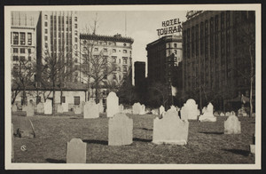Central Burying Ground, Boston Common, Samuel Chamberlain, The American Scene, 143 Elm Street, New Haven, Connecticut, undated