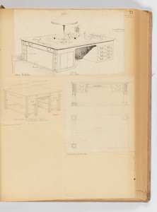 Writing Desks and Tables. -- Page 71