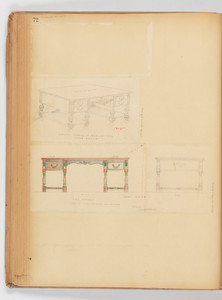 Writing Desks and Tables. -- Page 72