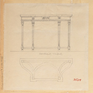 """""""Console Table"""""""