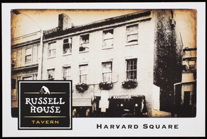 Russell House Tavern, Harvard Square, Cambridge, Mass., undated