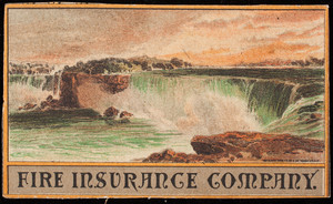 Trade card for unidentified fire insurance company, location unknown, undated