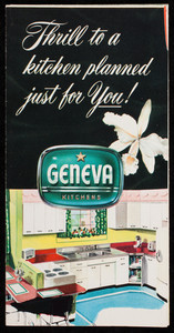 Thrill to a kitchen planned just for you! Geneva Kitchens, Geneva Modern Kitchens, Geneva, Illinois, 1950s
