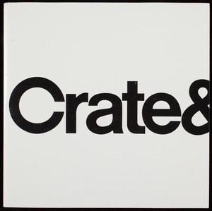Celebrate our new store opening, Crate & Barrel, home furnishings, 777 Boylston Street, Boston, Mass., November 19, 1999