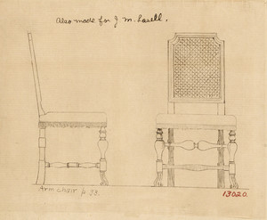 William and Mary-style Side Chair