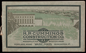 H.P. Cummings Construction Co., general contractors, Ware, Mass., January 1, 1915