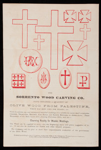 Wood carving and polishing, published by the Sorrento Wood Carving Co., 5 Temple Place, Boston, Mass., 1872