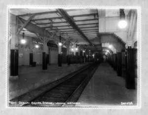Scollay Sq. Station, looking northerly