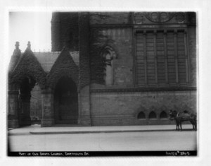 Part of Old South Church, Dartmouth Street, Boston, Mass., August 27, 1912