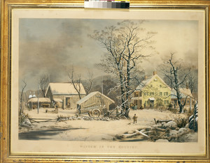"""""""Winter in the Country. A Cold Morning"""""""