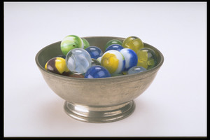 Small Footed Pewter Bowl