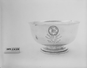 Footed Trophy Bowl