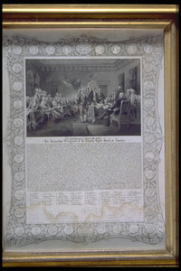 "Print of ""The Declaration of Independence"""