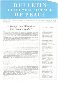 Bulletin of the World Council of Peace, number 2