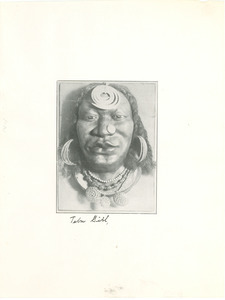 Photograph of mask by Beulah Woodard