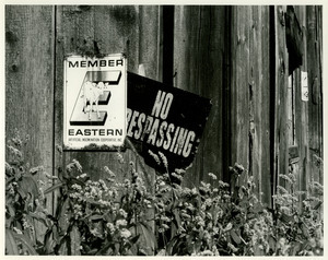 No trespassing at Wagner Farm