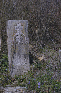 Peasant tombstone at Šumadija cemetery