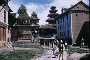 Cluster of buildings in Bhaktapur