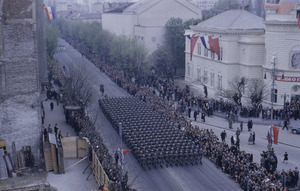 Army troops in parade