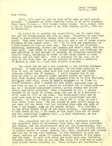 Letter from Joel M. and Barbara K. Halpern to Nettie and Carl Halpern