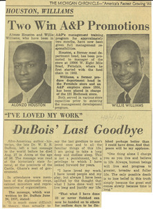 DuBois' last goodbye