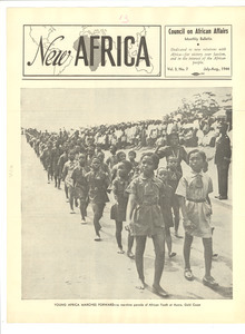 New Africa volume 3, number 7