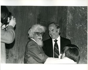Abraham Joshua Heschel and George McGovern