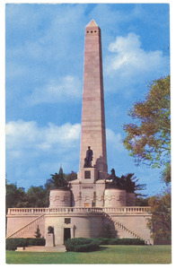 Postcard of Lincoln's tomb