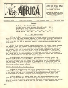 New Africa volume 7, number 2