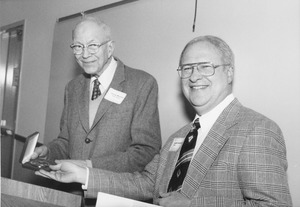George A. Marston with Joseph I. Goldstein
