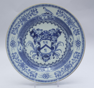 Armorial dinner plate