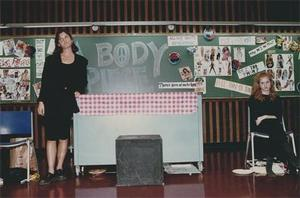 Abby Schachner at Academic Festival 1993.