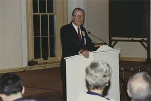 1990 Commencement Dinner Speaker.