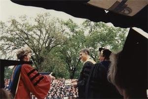 Carl Sagan Receives Honorary Degree.
