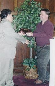 Faculty Giving Out Award during the Leadership Recognition Banquet and Ceremony 2007 I.