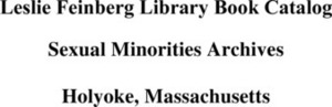 Leslie Feinberg Library Book Catalog