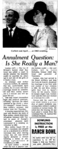 Annulment Question: Is She Really a Man?